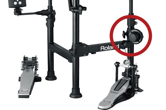 大鼓拾音器的設計只能裝右邊,無法裝左邊